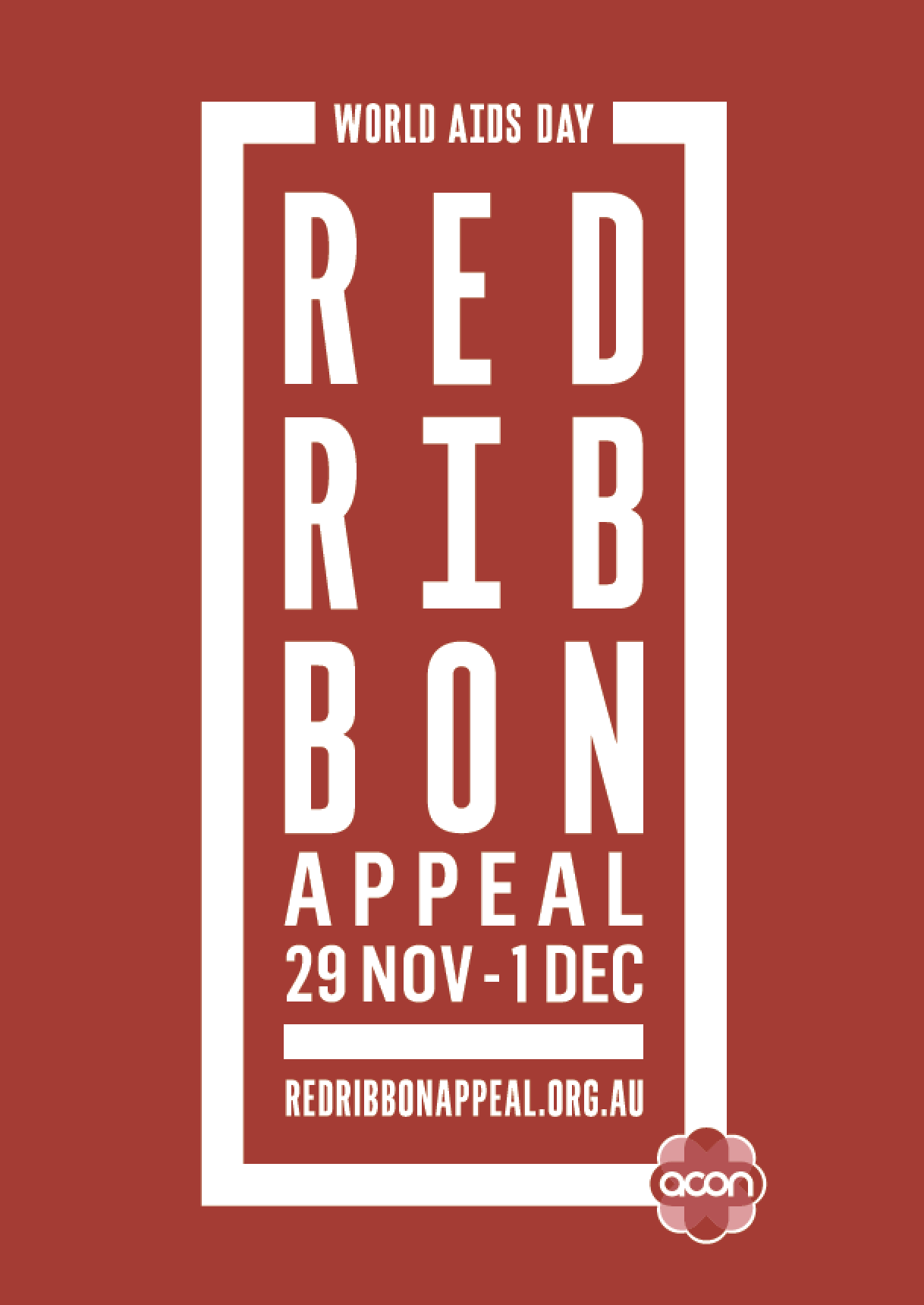 Red Friday - Poster 'Red Ribbon' (PDF)