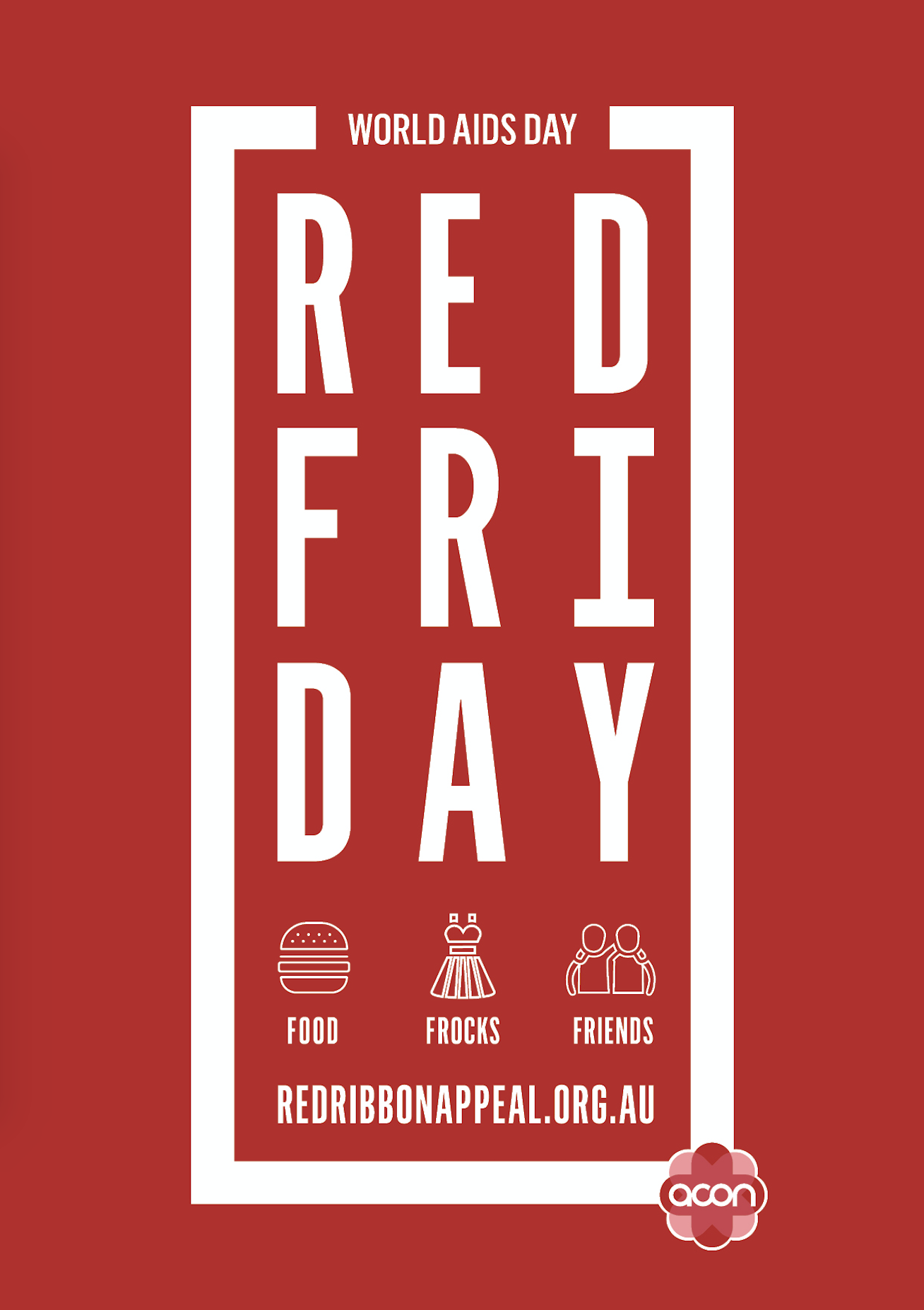 Red Friday - Image 'Red Ribbon' (JPG)