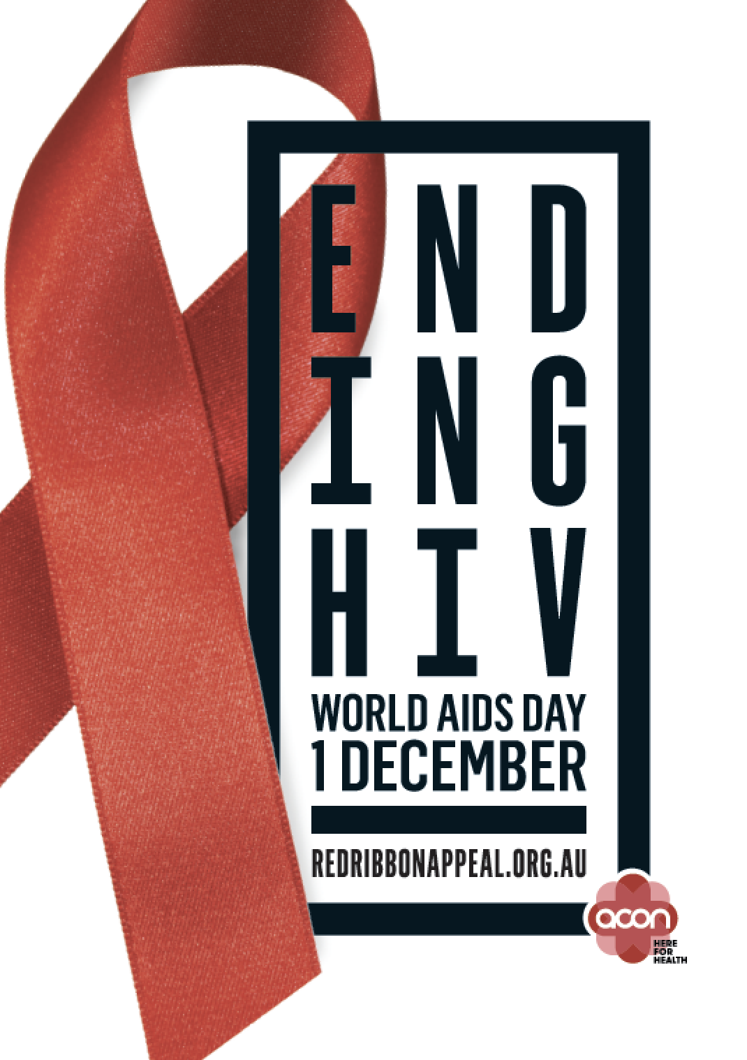 Red Friday - Image 'Ending HIV' (JPG)